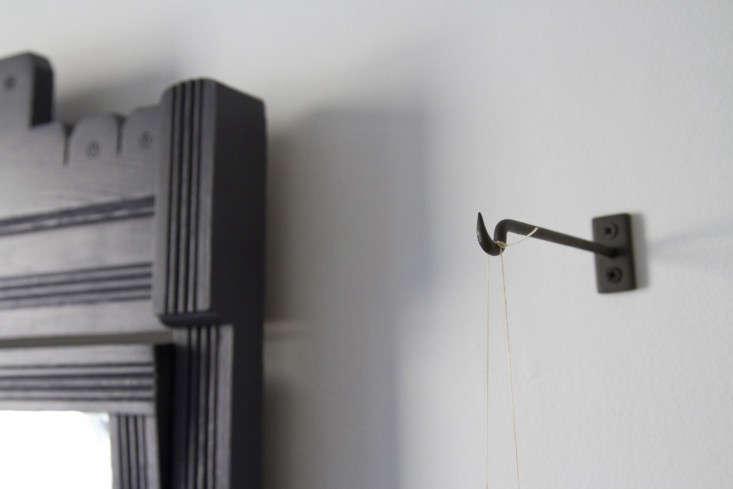 Kokedama string ball hanging planter by Erin Boyle