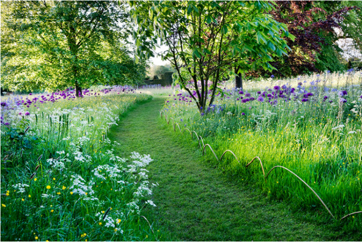 Known for its mown grass paths, Prince Charles&#8