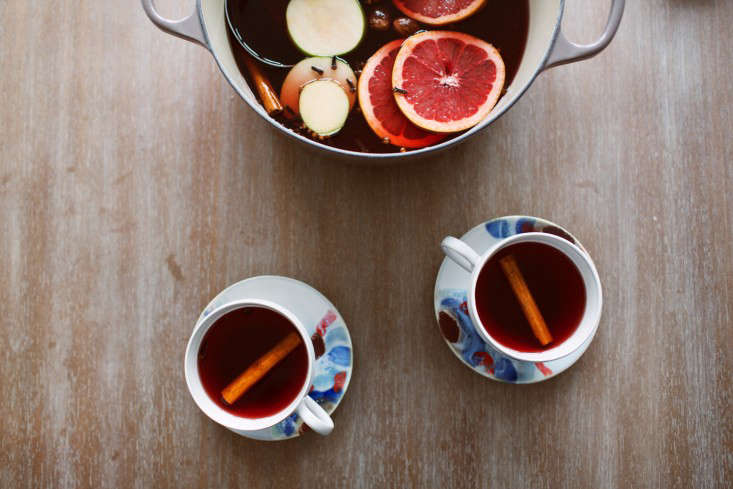 Mulled cider, served and ready to be enjoyed.