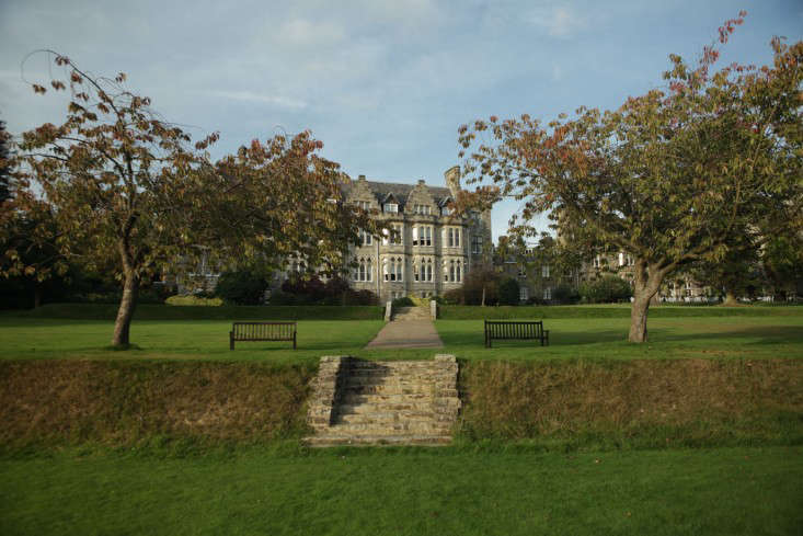 Ashdown Park Hotel in Wych Cross, East Sussex, organizes mushroom foraging expeditions in the woods, a stone&#8