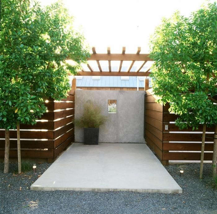 A Stinson Beach, CA entryway byBlasen Landscape Architecture. For more, seeA Seaside Garden at the End of a Dirt Road.