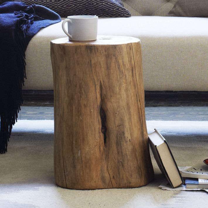 stump-side-table-west-elm-gardenista
