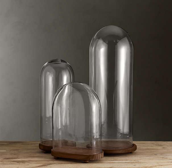 1920s-french-glass-cloches-restoration-hardware-gardenista