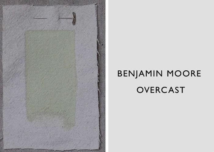 Benjamin Moore's Overcast