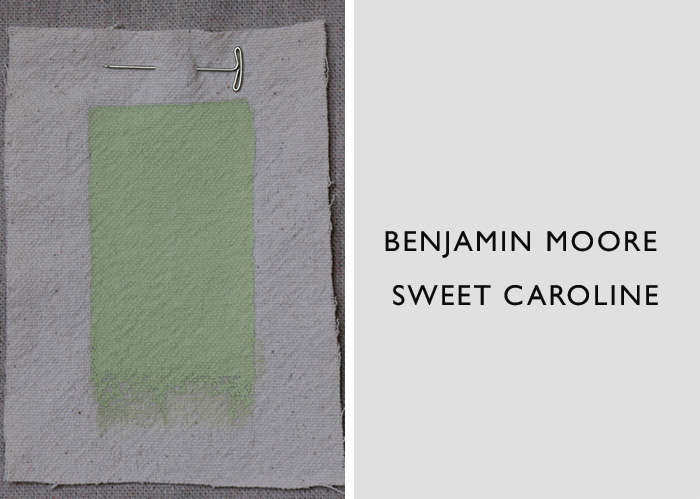 Benjamin Moore's Sweet Caroline Paint