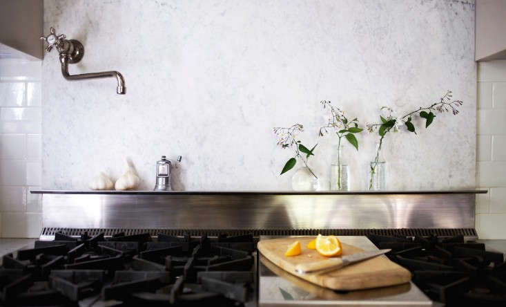 See more of Michelle&#8\2\17;s marble backsplash inMy Dirty Secret, or How I Learned to Live with a Marble Backsplash.