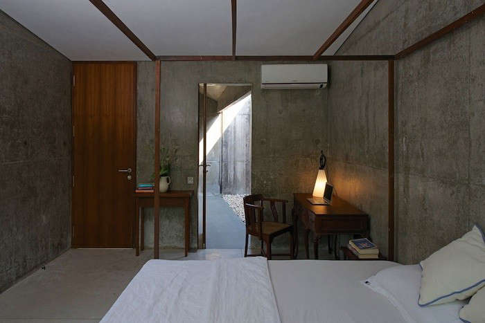 Architecture Brio designed this weekend House on a Stream for a busy Mumbai-based couple.