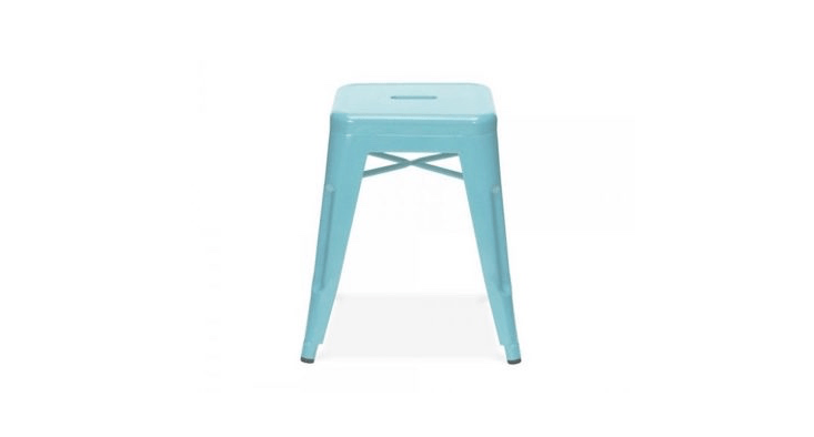 tolix style stackable stool from cult furniture