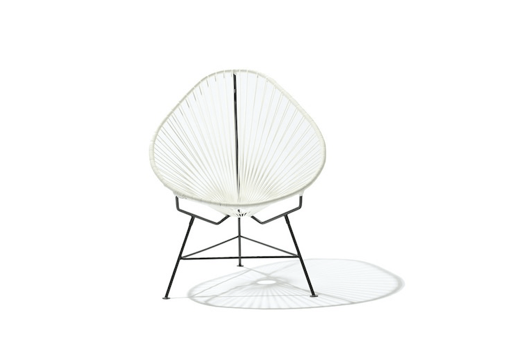 Above: Made in Mexico, exported to Australia, an &#8\2\20;6\24058&#8\2\2\1;]Acapulco Chair made of UV-filtered PVC cording with a galvanized metal frame is \$495 AU from Acapulco Chair, which describes itself as &#8\2\20;the only place to buy real Mexican Acapulco chairs in Australia.&#8\2\2\1;