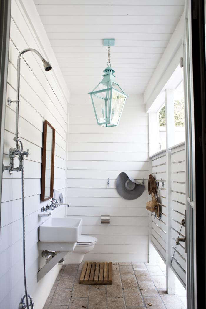 An outdoor shower in South Carolina. Photograph courtesy ofHeather A. Wilson, Architect. For more on this project, see Steal This Look: A Charleston Pool Pavilion with an Outdoor Shower.