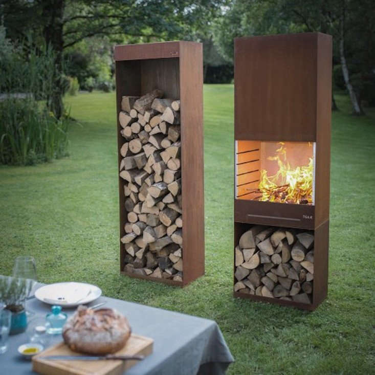 The K60 Garden Fire & Barbecue from TOLE (The Outdoor Living Experience) was designed byiol Strategic Design, a Belgian firm typically working in specialty fields like education and health care. The team wanted to create a locally made consumer product. It is€\2,300 from Jardin Chic.