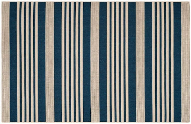 The Jeffers Outdoor Rug is made of polypropylene; prices range from $ to $345 at One Kings Lane.