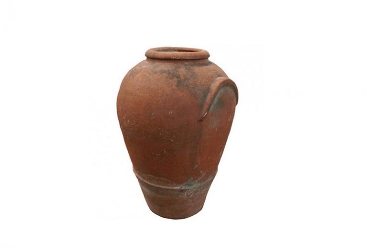 amphora rainwater collection antique terra cotta urn