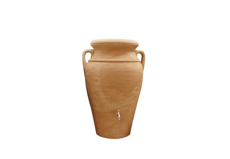amphora rainwater collection terra cotta urn