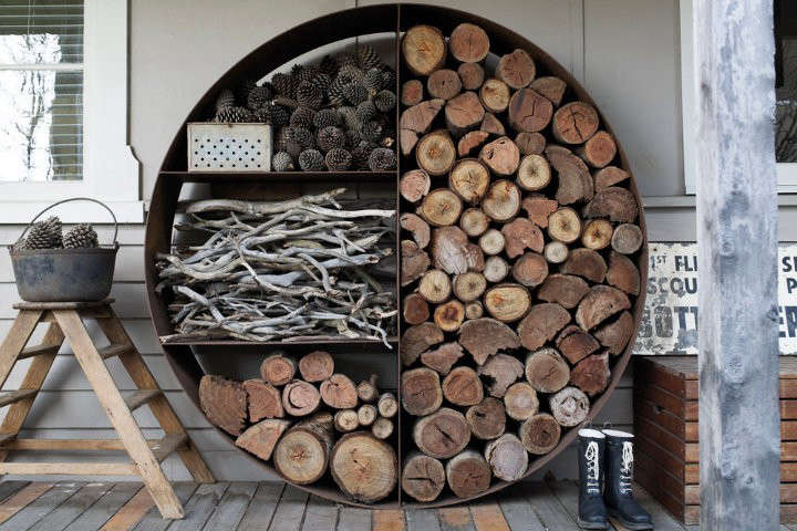 For more, see  Easy Pieces: Firewood and Log Storage.