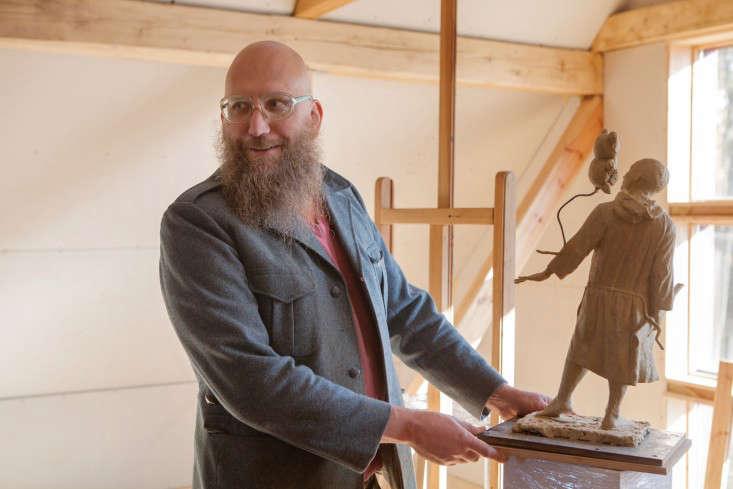 Freunde-von-Freunden-Aigars-Bikse-studio-sculpture-gardenista
