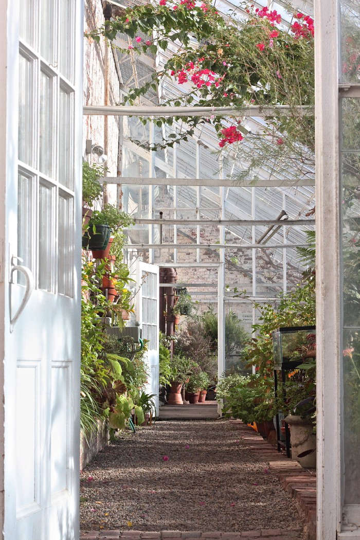 Lyman-Estate-Greenhouses-entrance-citrus-house-gardenista