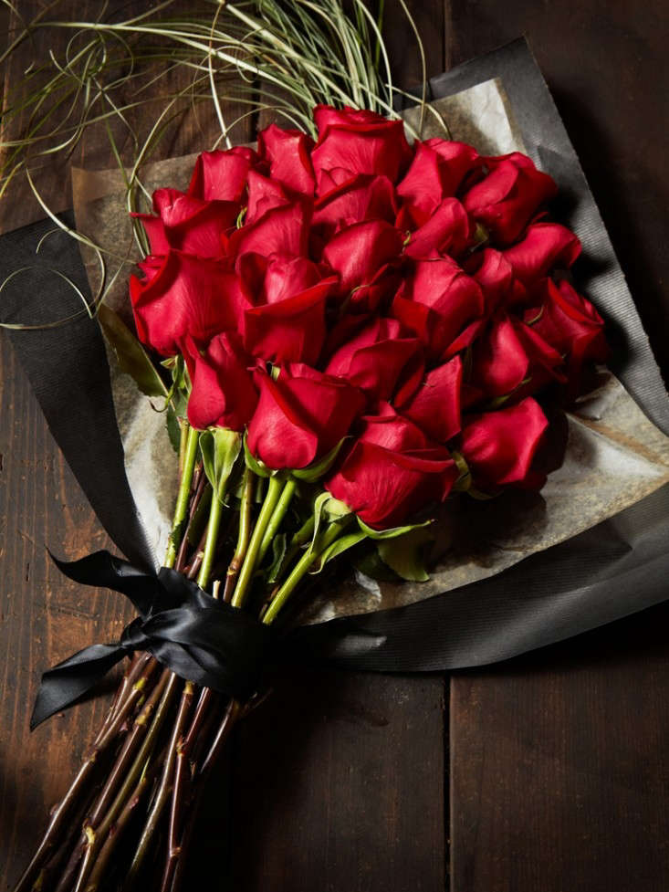 For local delivery, Flower Girl NYC offers The Classic bouquet of roses (in bunches of loading=