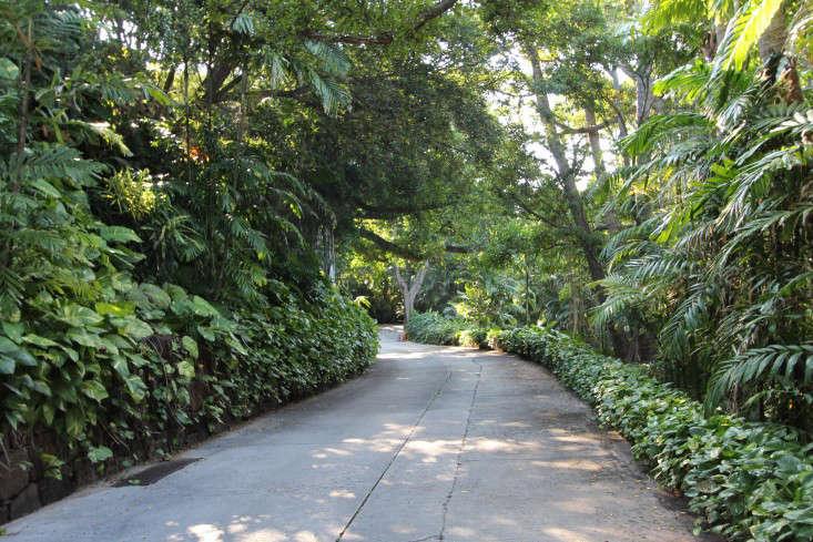 driveway-doris-duke-shangri-la-honolulu-gardenista
