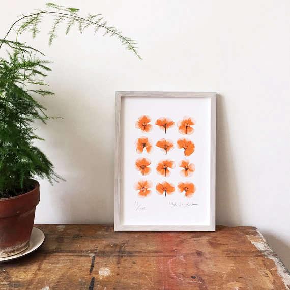 MR-studio-pressed-flowers-geranium-botanical-print-gardenista