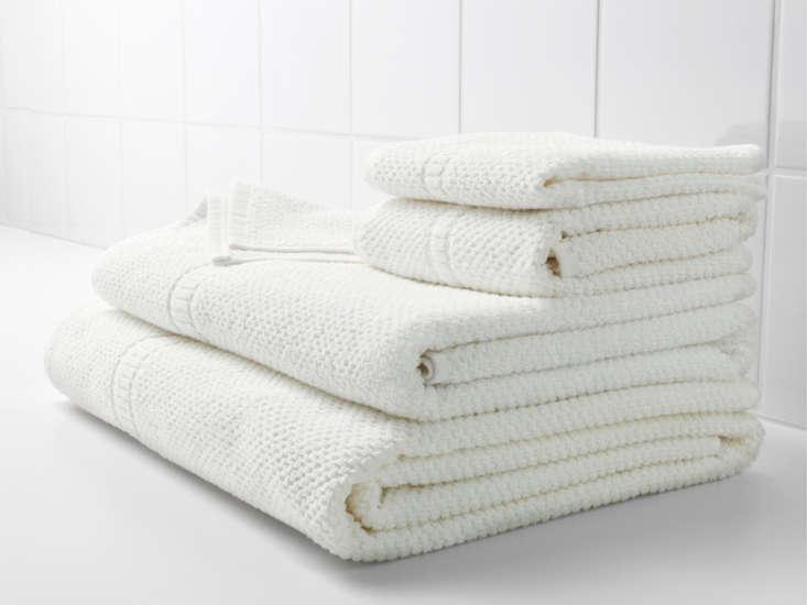 A \100-percent cotton Fräjen Bath Towel is \$5.99 at Ikea.
