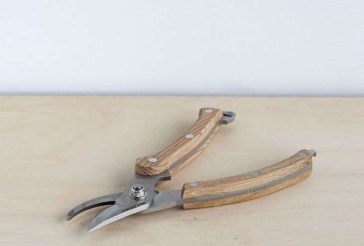 Available for pre-order the Stainless Steel Secateur measures 7.5 inches long and features an ash wood handle for $3
