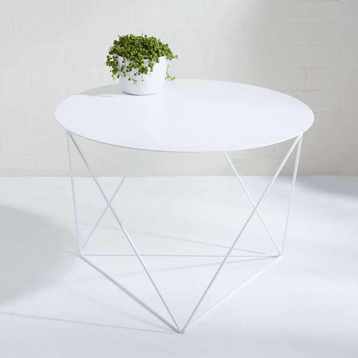 eric-trine-octahedron-side-table-white-gardenista