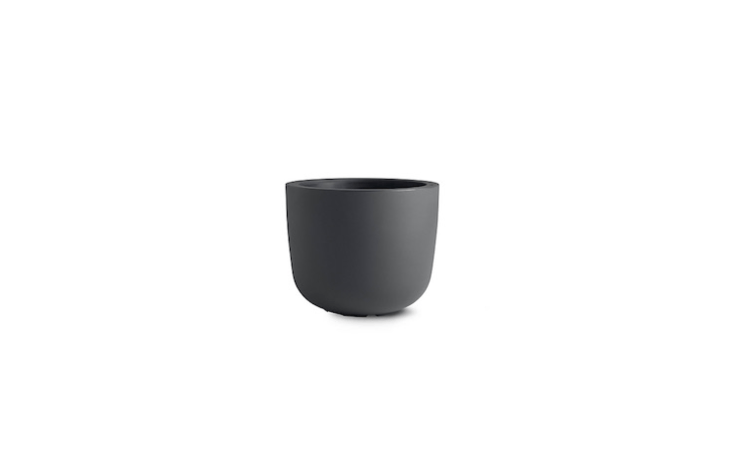 Japan-based designer Naoto Fukusawa&#8\2\17;s largeCup Planter for Serralunga is made of molded recyclable polyethylene and is available in four colors, with a diameter of \19 inches; \$\195 at DWR.