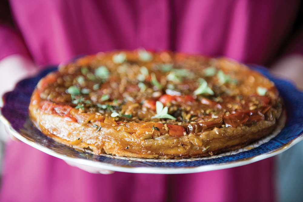 Tomato Tart from Julia Reed's South from Rizzoli | Gardenista