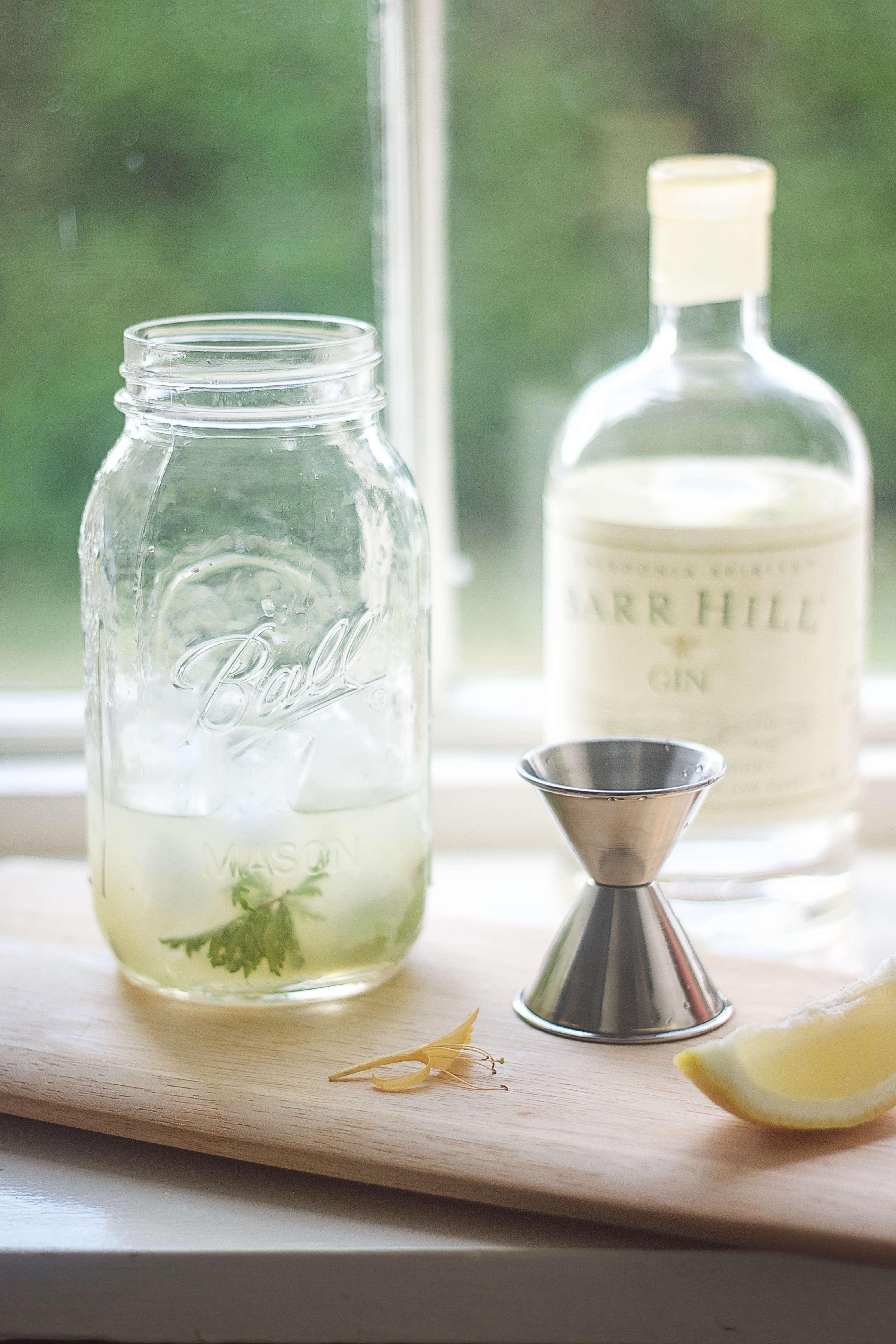 Rose Geranium cocktail, mix, Gardenista