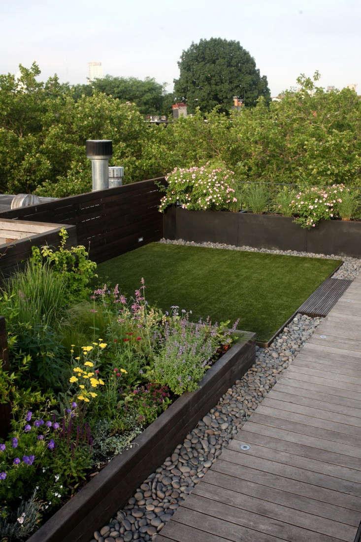 artificial grass Brooklyn roof garden