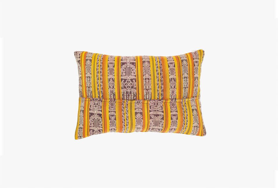 ABC Home DNA Yellow Throw Pillow
