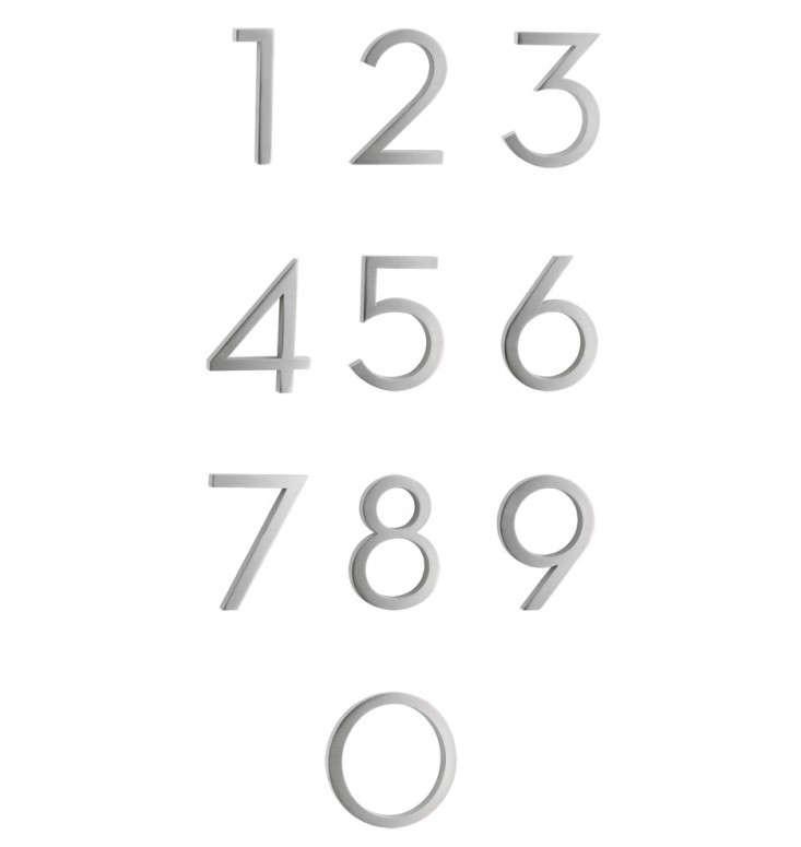 brushed-aluminum-house-numbers-gardenista