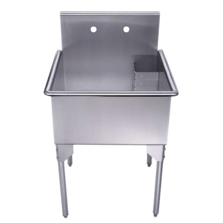 freestanding-utility-sink-brushed-stainless-steel-gardenista