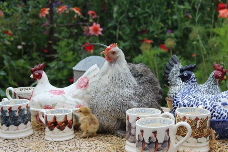 emma-bridgewater-arthur-parkinson-chickens-pottery-gardenista