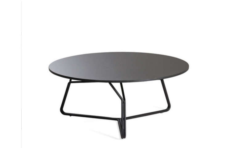 pedestal-black-metal-round-outdoor-coffee-table-gardenista
