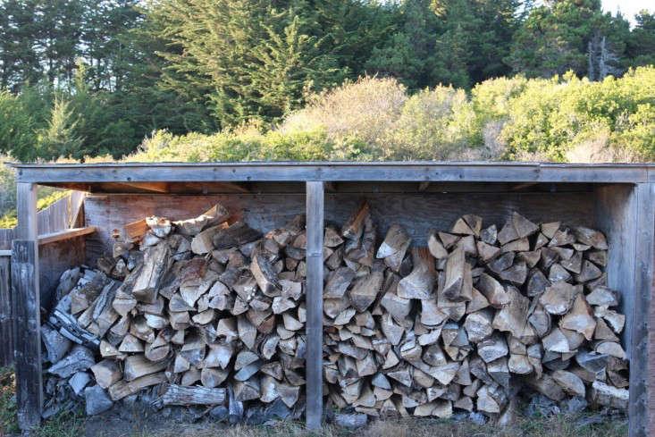 sea-ranch-firewood-woodpile-shelter-meredith-swinehart-gardenista