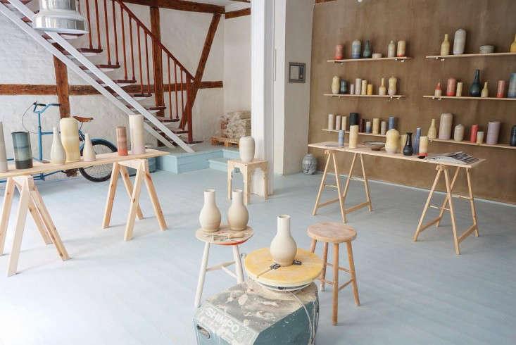 tortus-copenhagen-ceramics-vases-sawhorses-shelves-stairway-gardenista