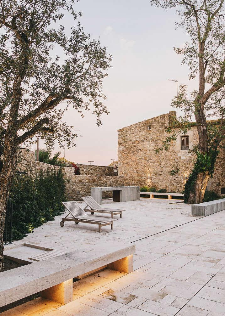 Castillo de Peratallada in Catalonia   Gardenista