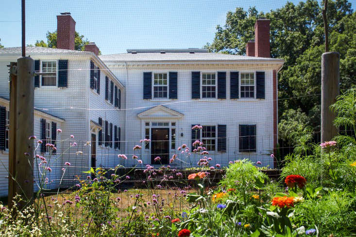 Concord Garden, house back view, Gardenista