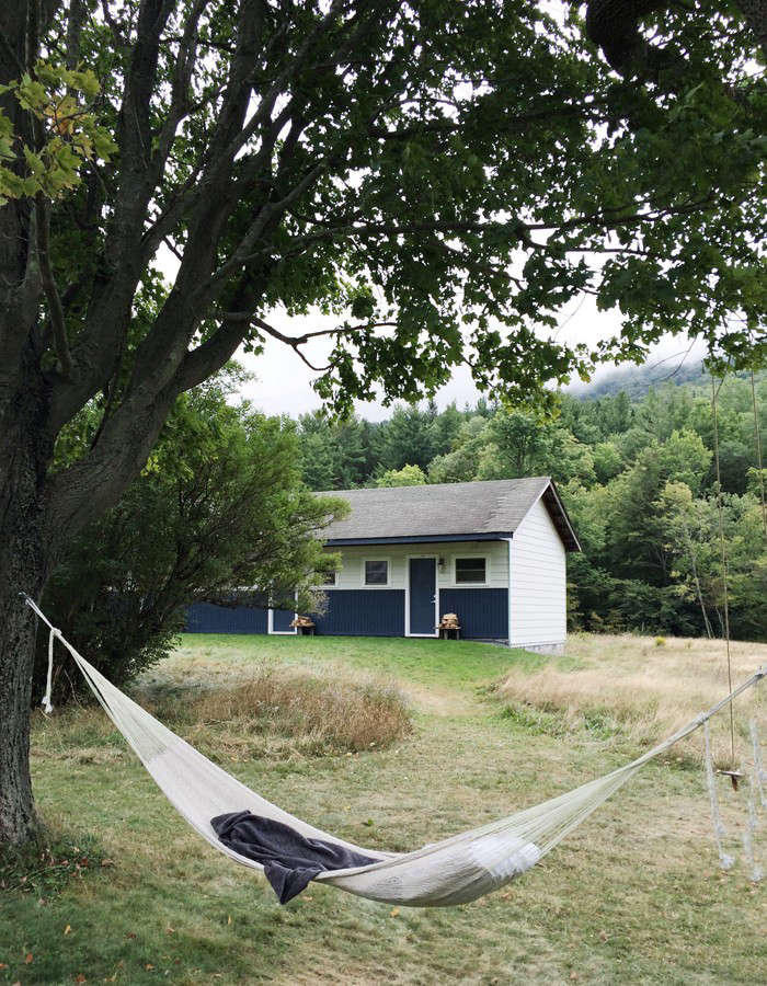 Where to spend the summer: a hammock. (This one is at The Spruceton Inn in the Catskills.) For loading=