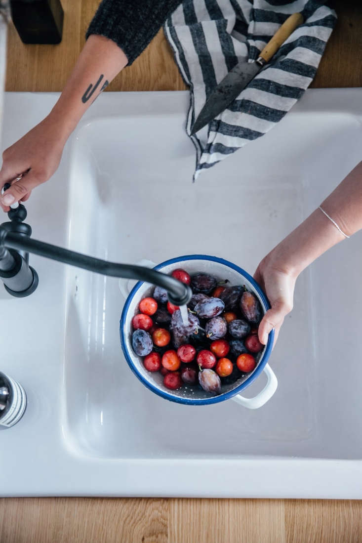 A natural solution for removing berry stains, a necessary summer hazard, can be found in Domestic Science: A Surprising Miracle Cure for Berry Stains. Photograph byLaura Muthesius, courtesy of Our Food Stories.