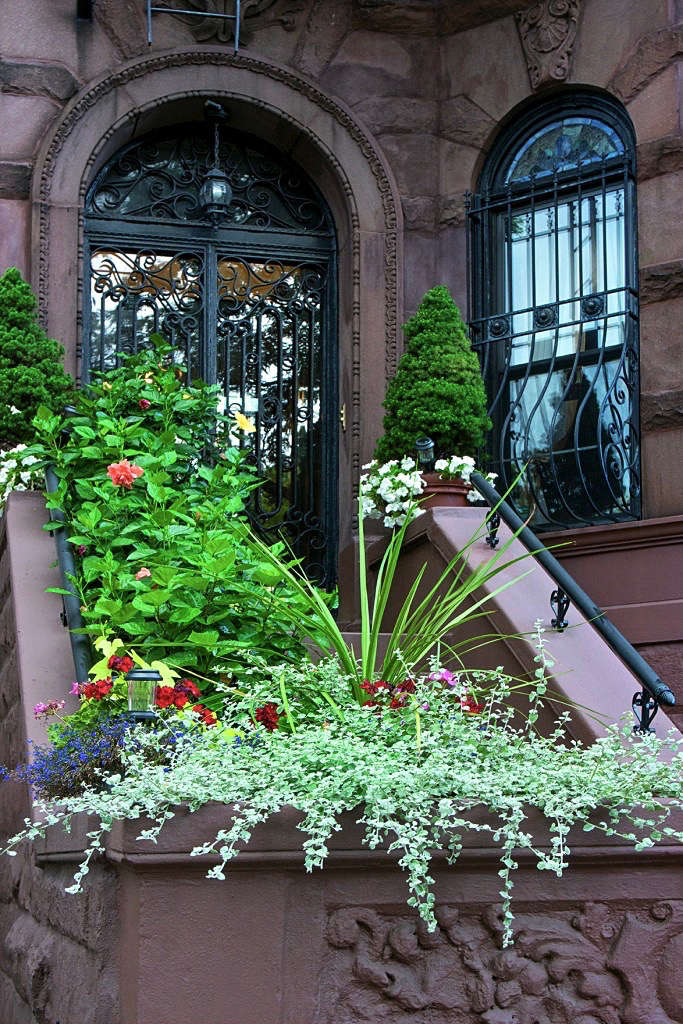 front-stoop-brownstone-railing-new-york-gardenista