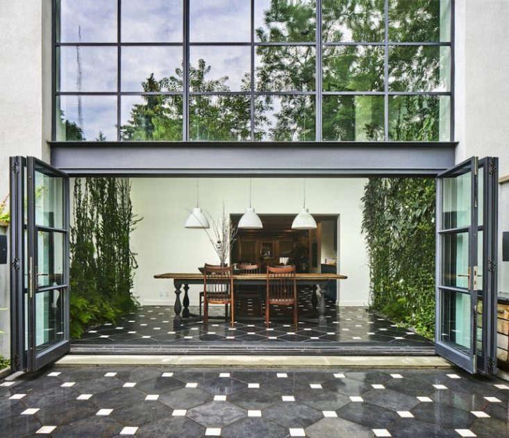 Fort Greene Vine Dining Room by Kim Hoyt