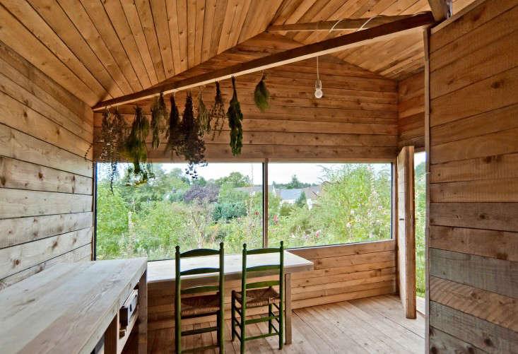 Gartenhaus in einer Schrebergartensiedlung Ferienhaus
