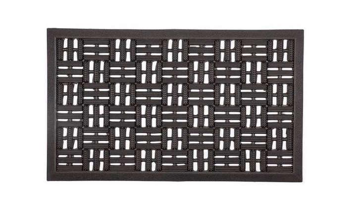 recycled-black-rubber-doormat-gardenista