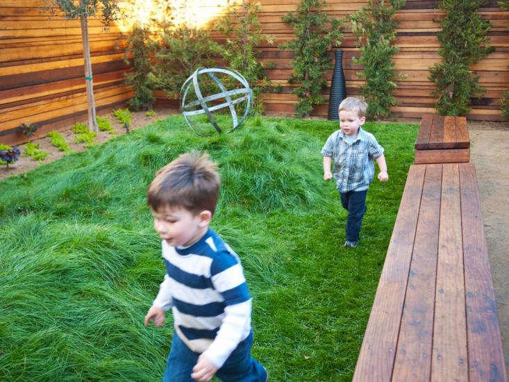 San Francisco Modern Backyard Playground for Kids