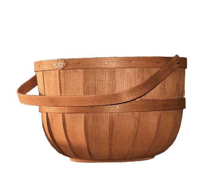 half bushel harvest basket from peterboro