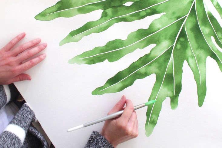 jenny-kiker-living-pattern-leaf-painting-2