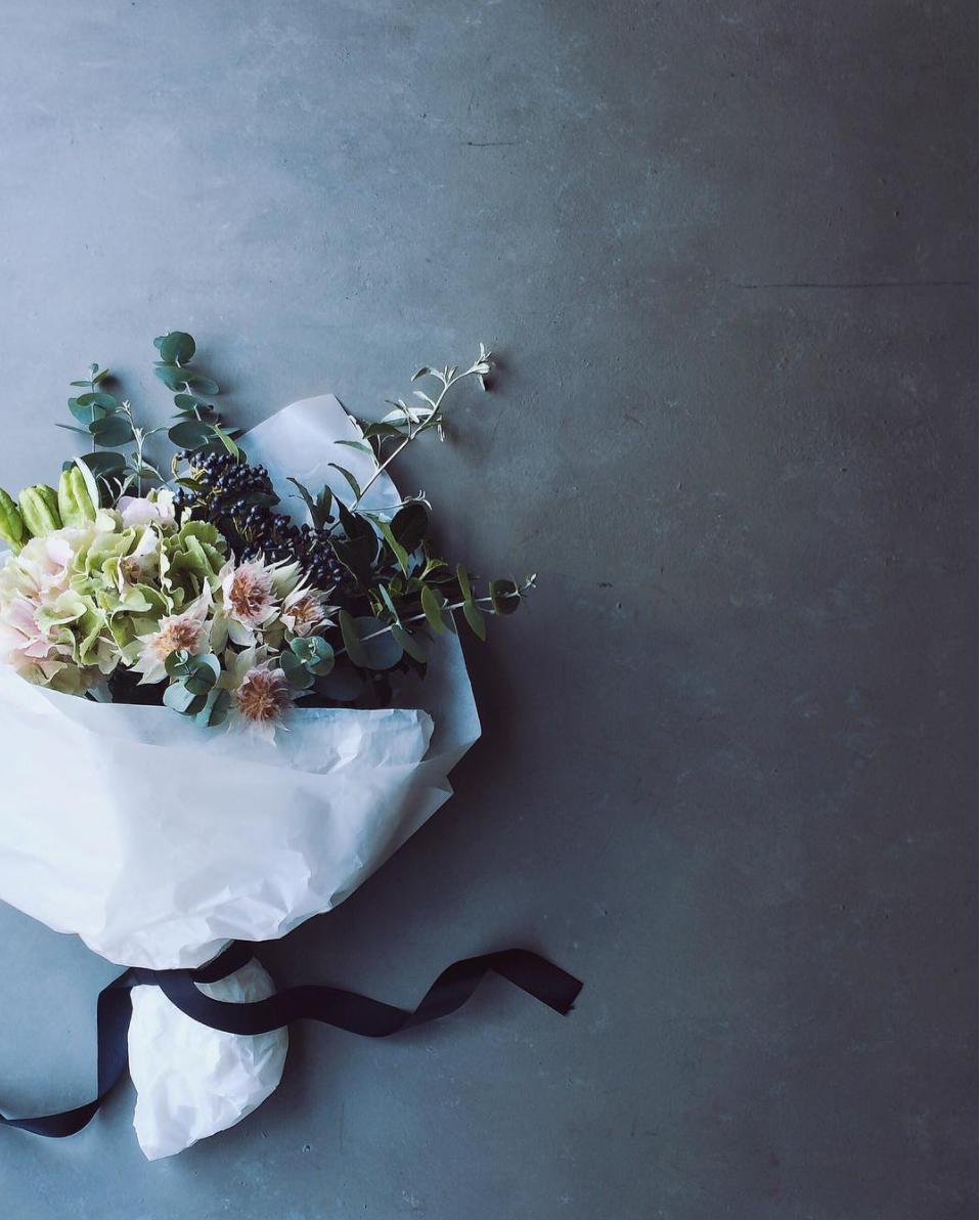 Hydrangea Bouquet by Yukiko Masuda